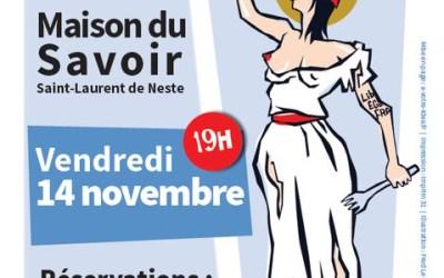 Collaboration graphique avec La Maison du Savoir de Saint Laurent de Neste