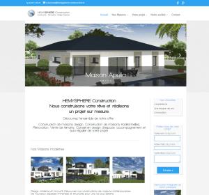 Création site internet constructeur maison pau