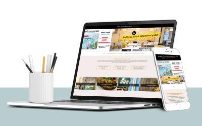 Création d'un site web pour un restaurant d'entreprise