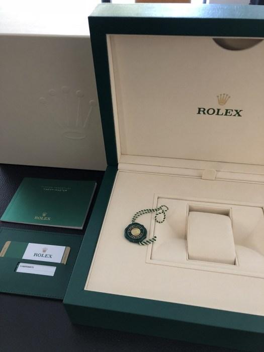 ロレックスヨットマスター116695satsキャンディーの付属品