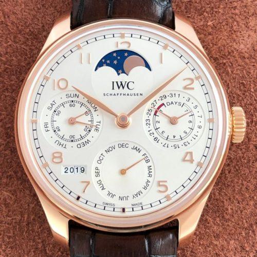 IWC ポルトギーゼ パーペチュアルカレンダー IW503302 中古 名古屋