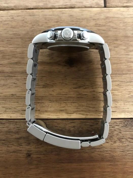 ロレックス デイトナ 116500LN ホワイト(白) 2019.9ギャラ 竜頭側から全体 中古 名古屋