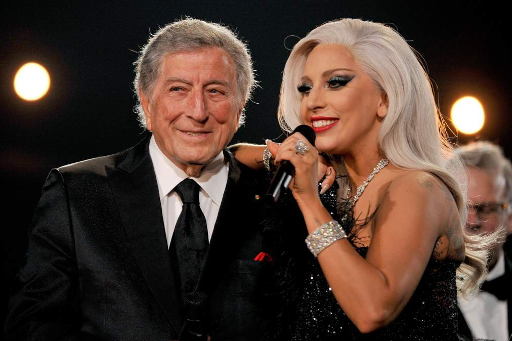 Lady Gaga Tony Bennett Photo by Lester Cohen/WireImage