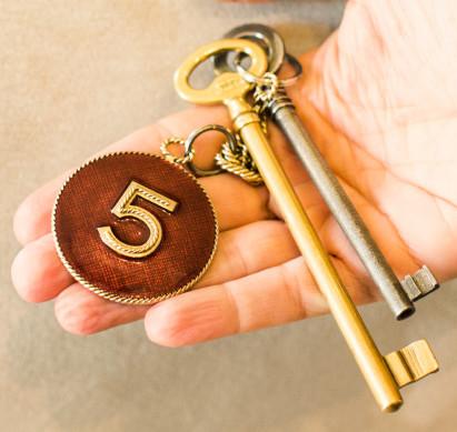 Keys to Gabrielle Coco Chanel's Apartment at 31 Rue Cambone Paris
