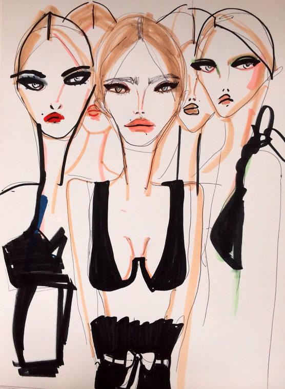 By Blair Breitenstein | Model Squad } Blonde Lasagne