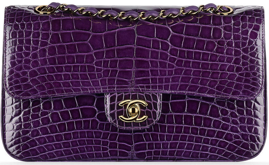 Chanel Alligator Flap