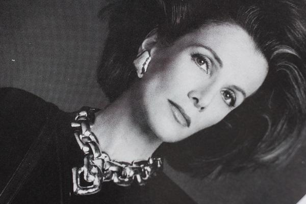My photo; Bergdorf Goodman ad,1989; Photo: Francesco Scavullo