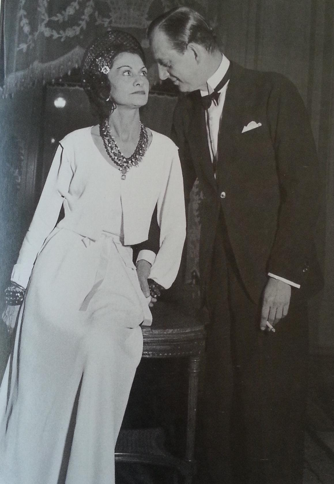 "Gabrielle ""Coco"" Chanel and Grand Duke Dmitri Pavlovich Romanov of Russia"