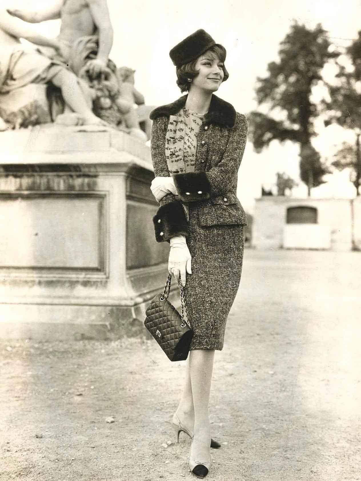 Model: Marie-Helene Arnaud; 1950s