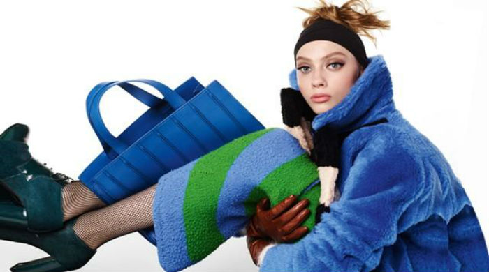 MaxMara; Photo: Steven Meisel; Model: Odette Pavlova