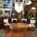 Italian Rustic Tuscan Farmhouse Walnut Round Table Circa 1860
