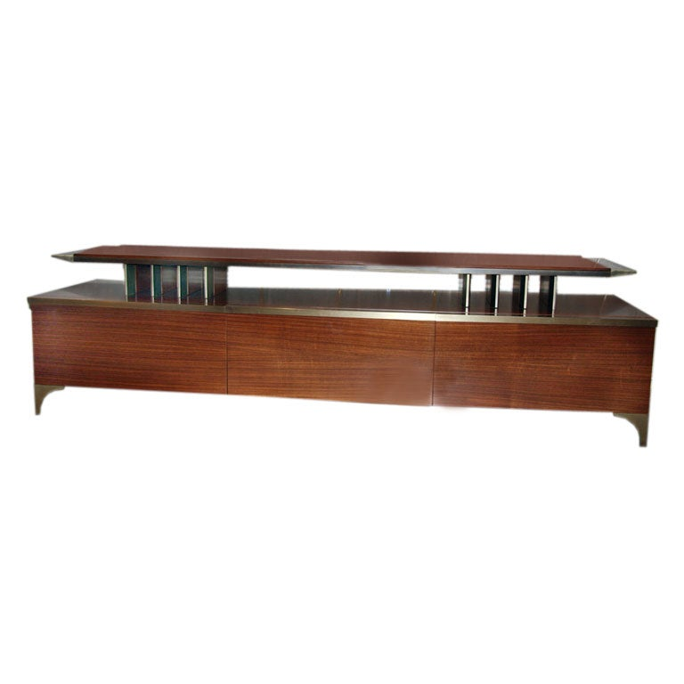 Italian 70s SideboardConsole At 1stdibs