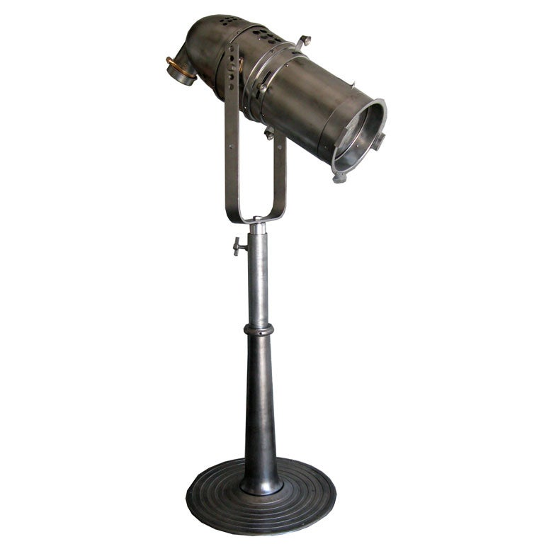 Great Unusual Extensible Stage Light Floor Lamp At