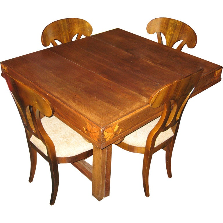 Art Nouveau Table At 1stdibs