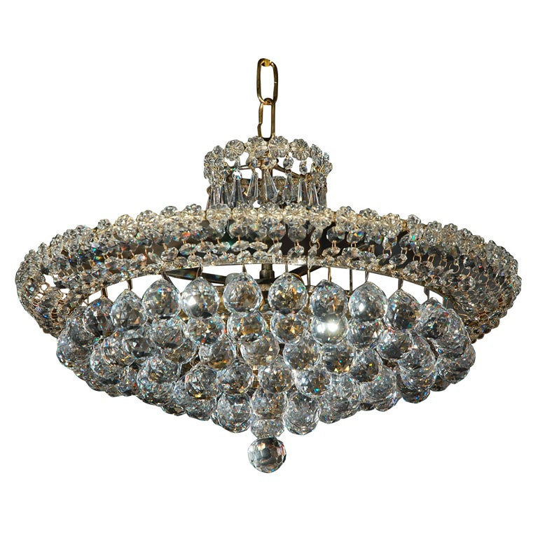 Large Bowl Pendant Light