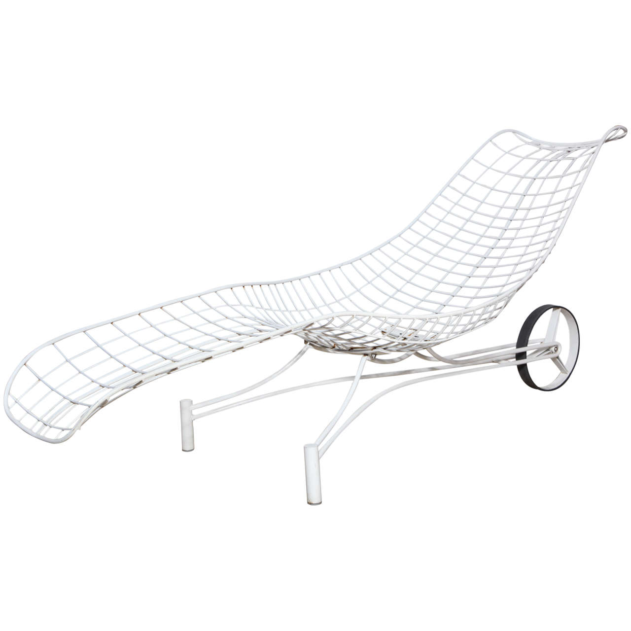 Vladimir Kagan Rolling Capricorn Chaise Lounge At 1stdibs
