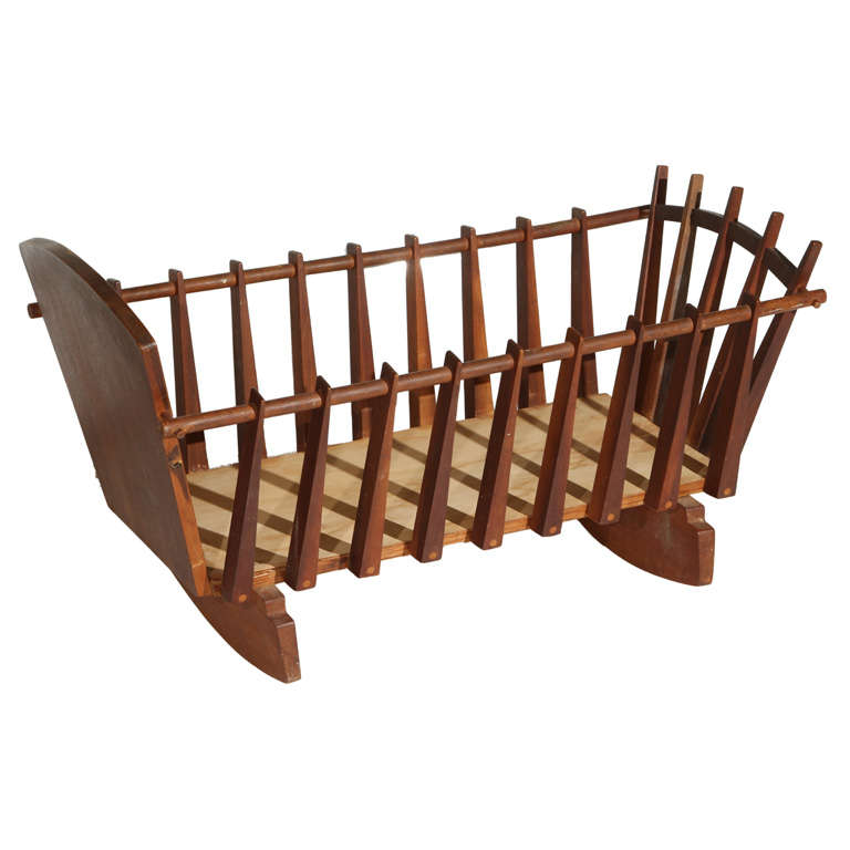 Frank Rohloff Childs Crib At 1stdibs