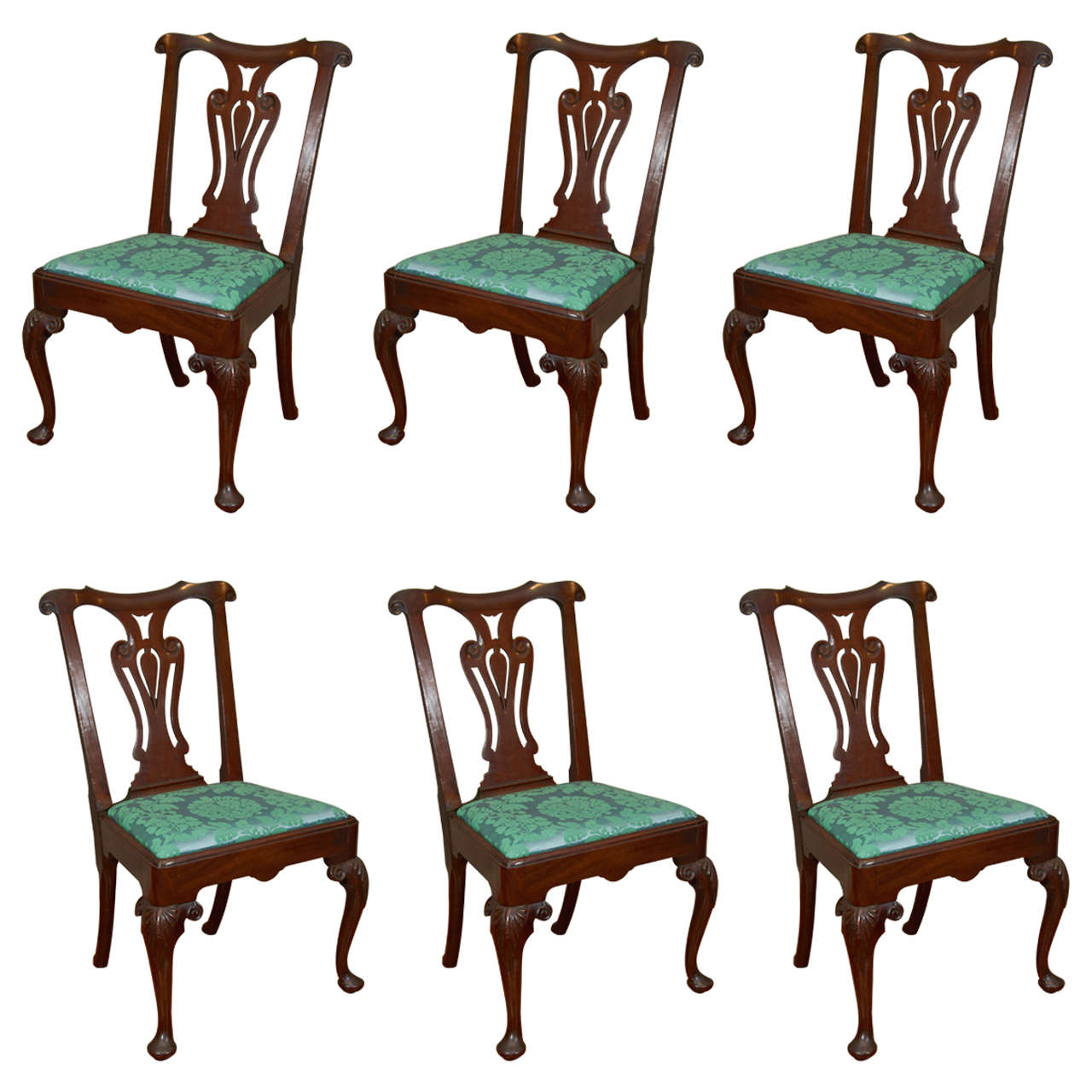 Best Kitchen Gallery: Set Of Six Irish 18th Century Georgian Dining Chairs For Sale At 1stdibs of Dining Chairs For Sale  on rachelxblog.com