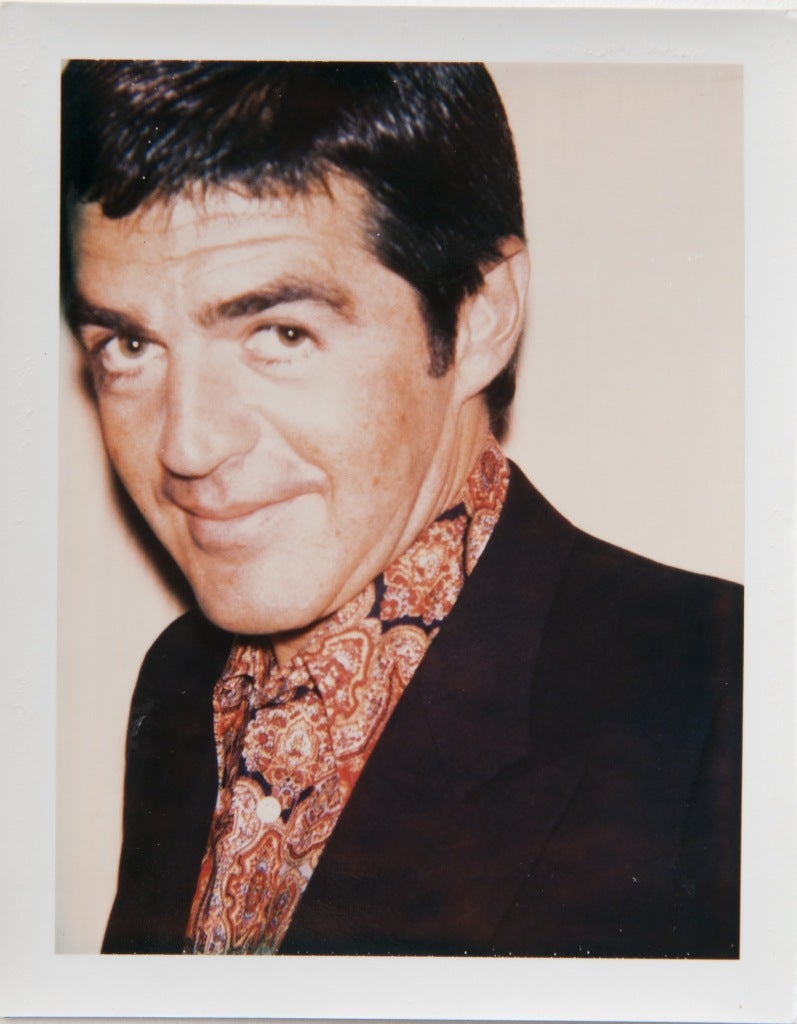 Andy Warhol Irving Blum Photograph At 1stdibs