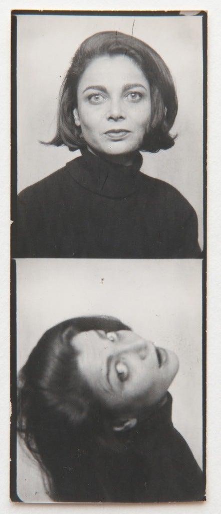 Andy Warhol Judith Green Photobooth Strip Photograph