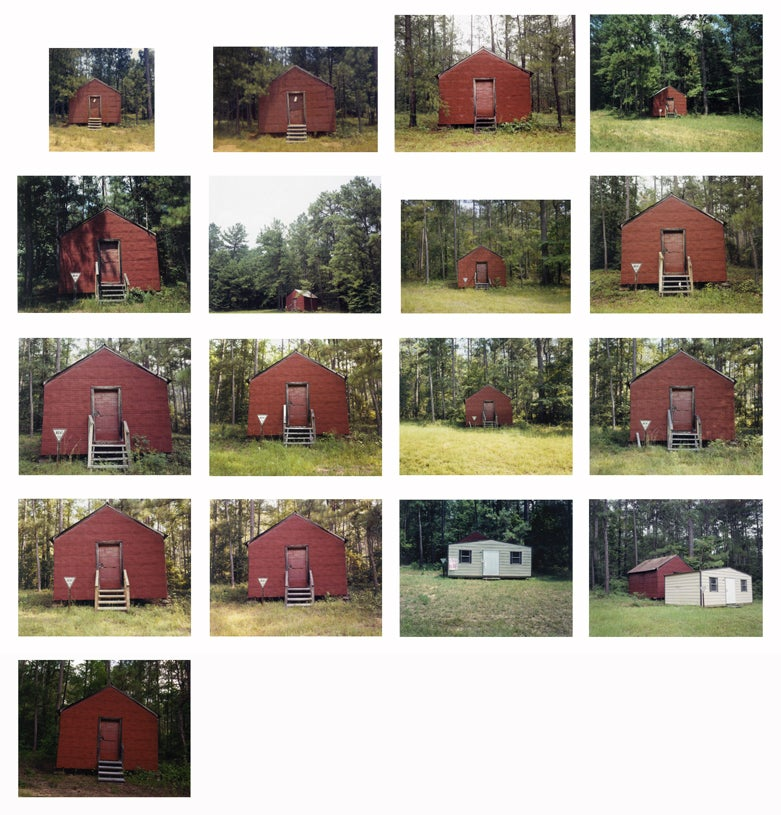 William Christenberry Red Building In Forest Hale
