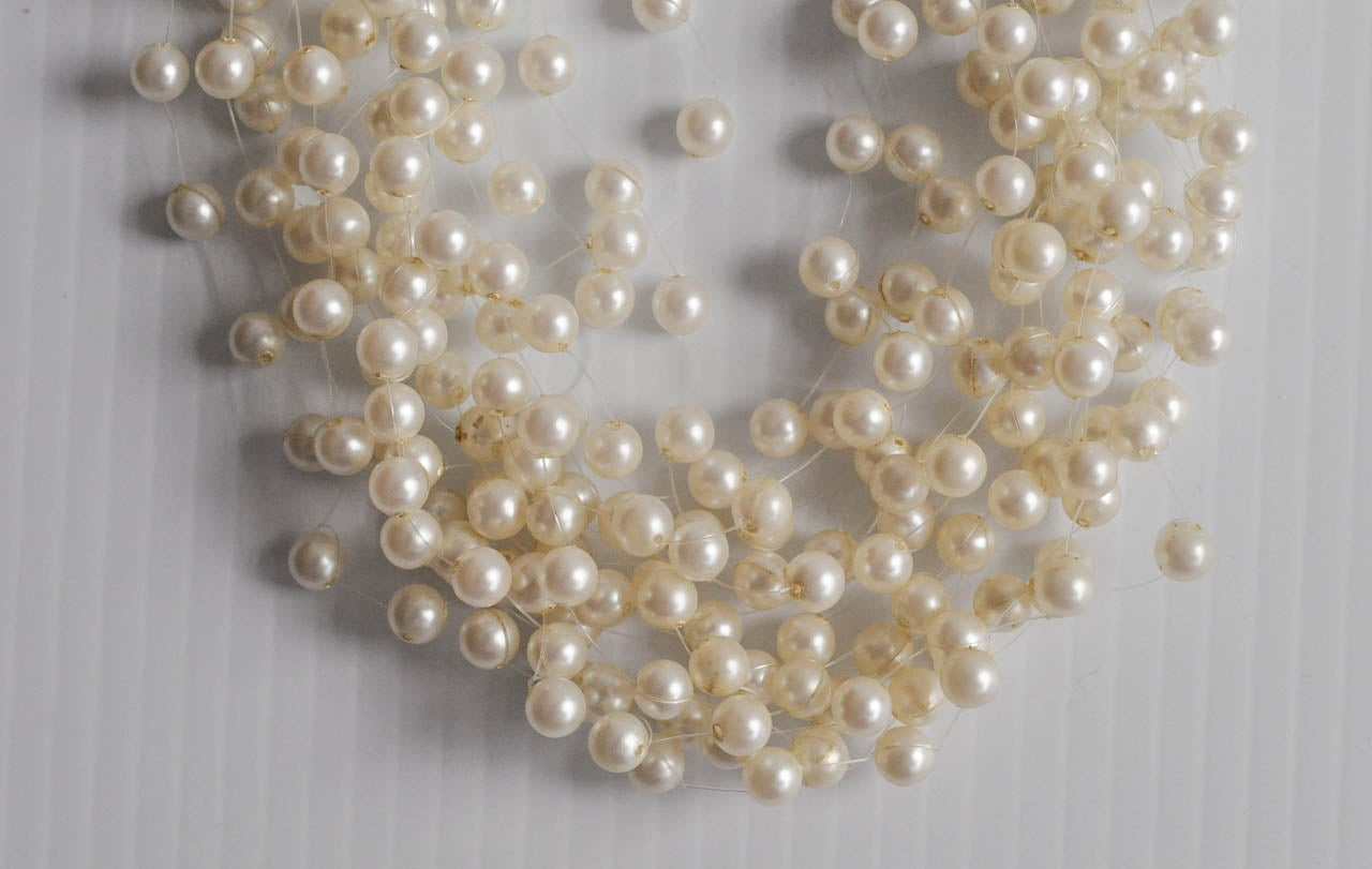 Multi Strand Pearl Necklace By Langani At 1stdibs