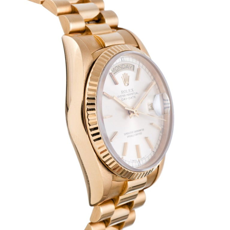 Rolex Day Date Wristwatch A Gift From Johnny Carson At