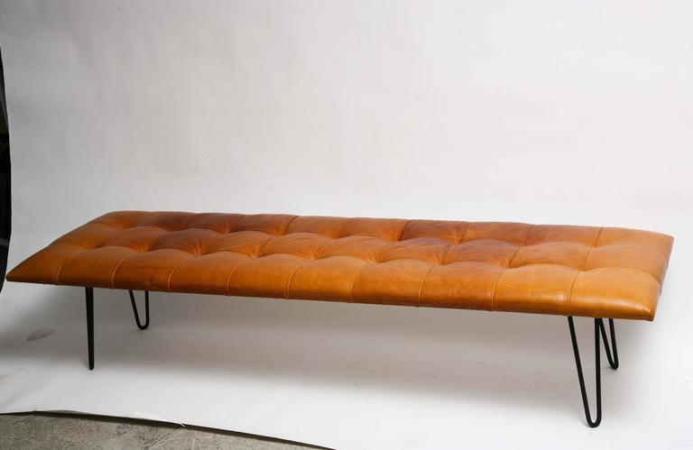 Mid Century Danish Modern George Nelson Style Hairpin Legs