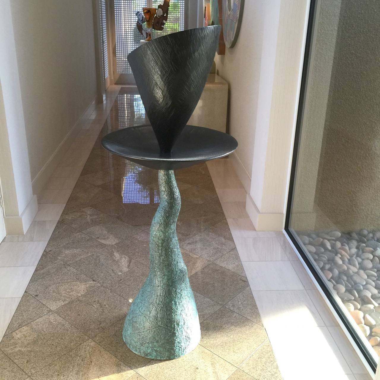 Wendell Castle Pedestal Sculpture For Sale At 1stdibs