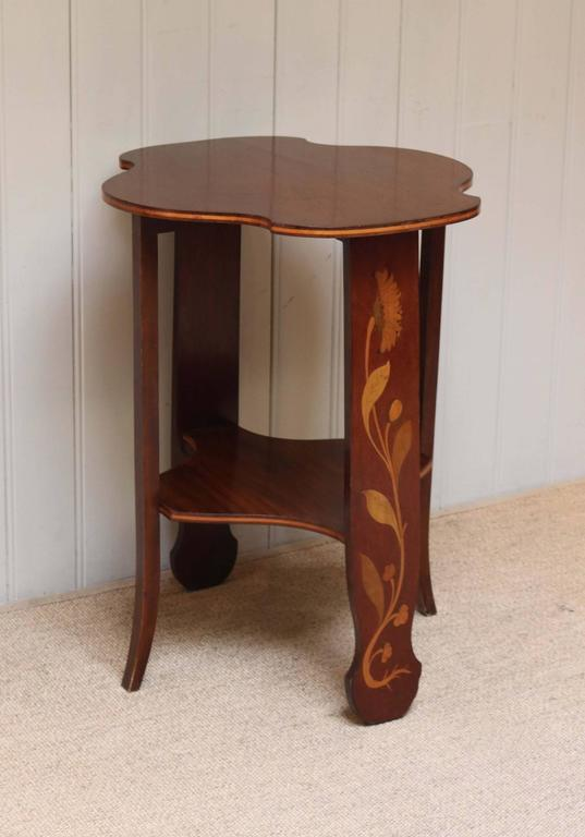 Mahogany Art Nouveau Table For Sale At 1stdibs