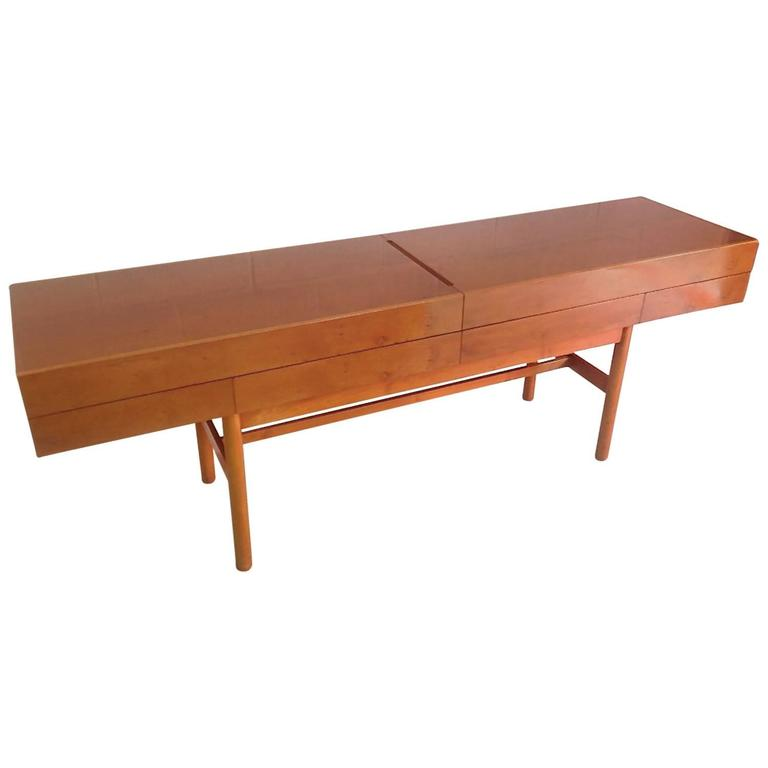Rare Robert Sonneman Urban Prmitive Sideboard At 1stdibs