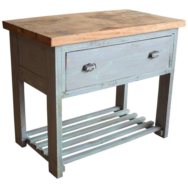 Vintage French Kitchen Work Table 1stdibs