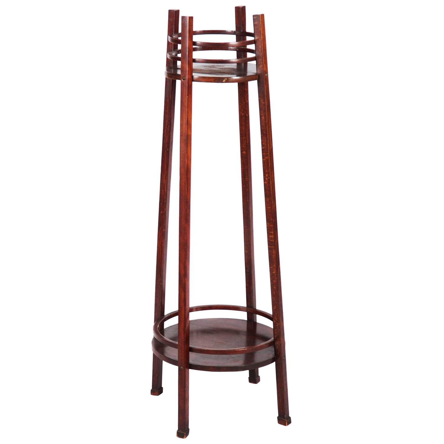 Rare Thonet Plant Stands Or Pedestal For Sale At 1stdibs