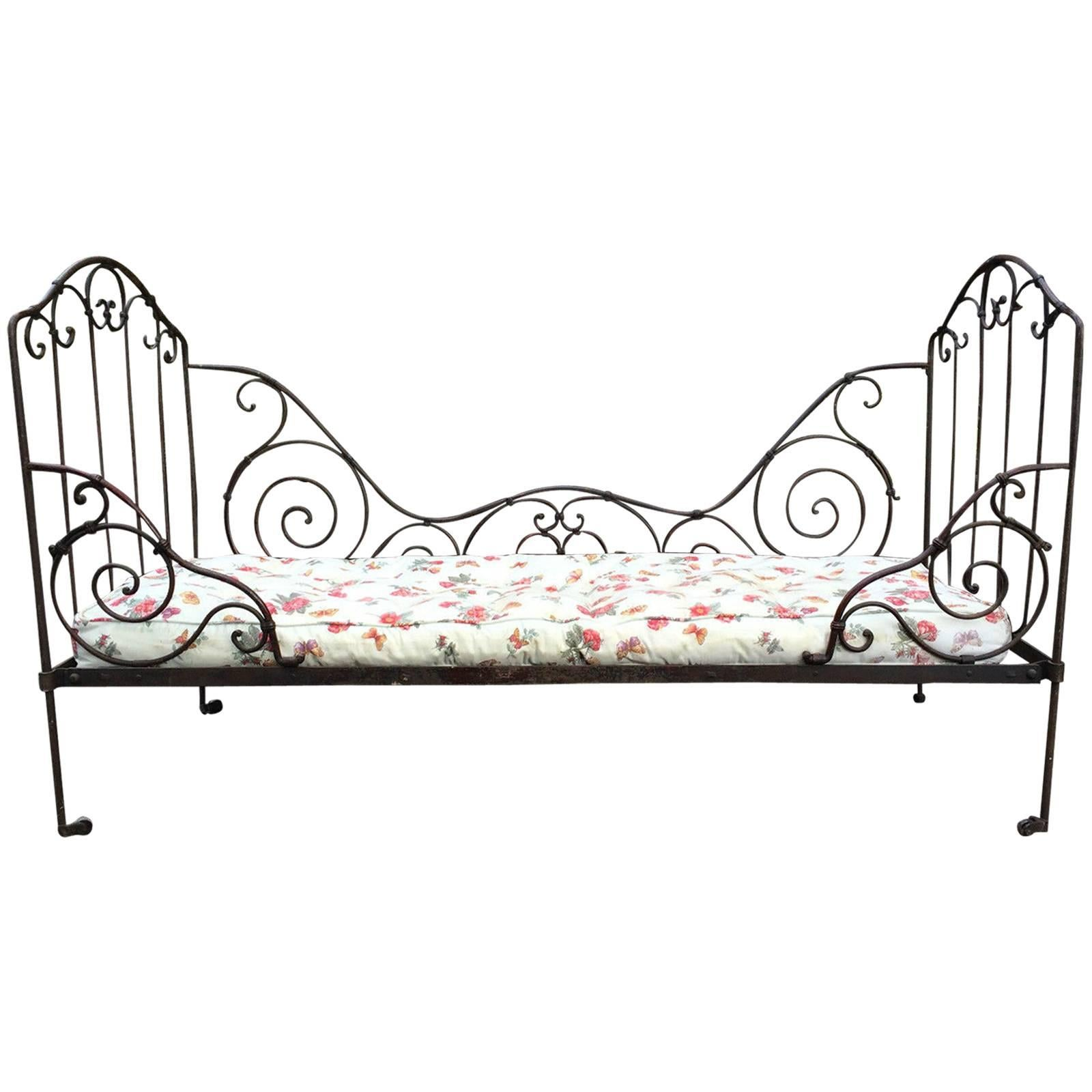 Antique Wrought Iron Beds 1 For Sale On 1stdibs