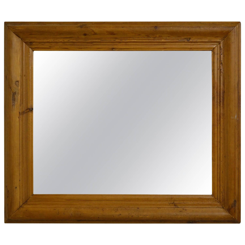 Antique Pine Mirror Frame For Sale At 1stdibs