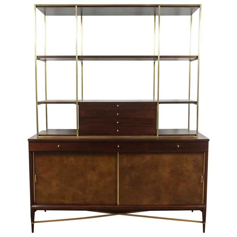 Paul McCobb For Calvin Wall Unit Credenza At 1stdibs