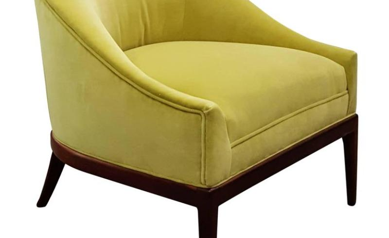 Pleasant Yellow And Grey Slipper Chairs Beauty Within Clinic Theyellowbook Wood Chair Design Ideas Theyellowbookinfo