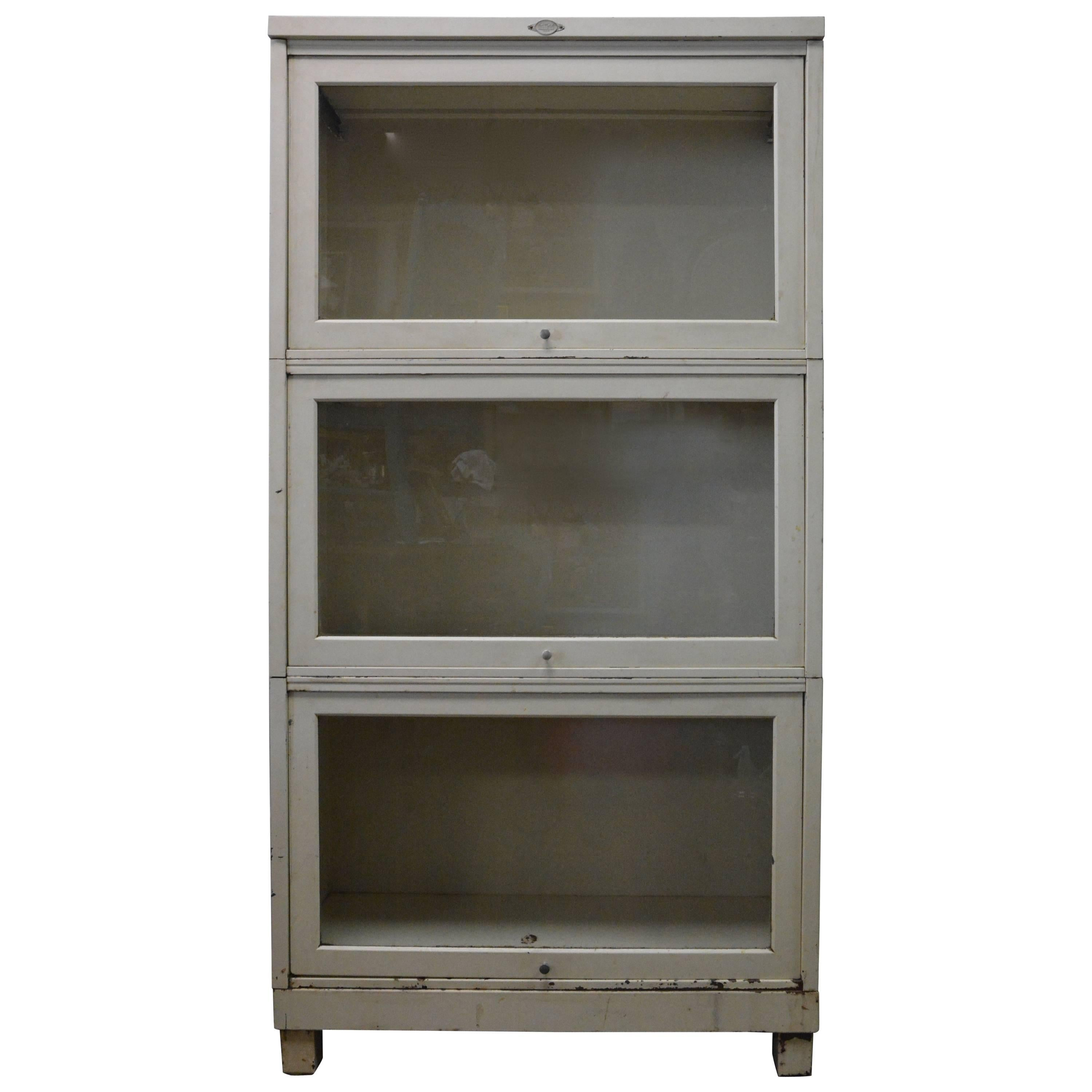 Art Metal Co Stacking Barrister S Bookcase