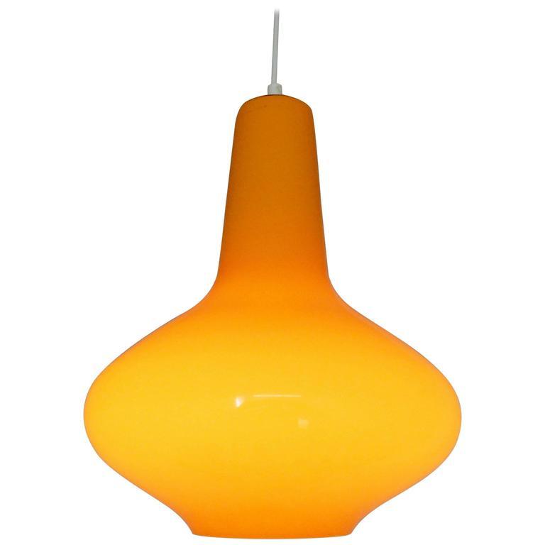 Orange Glass Ceiling Lights Www Lightneasy Net