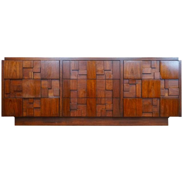 Bassett Furniture Co Mid Century Modern Bedroom Suite For Sale at