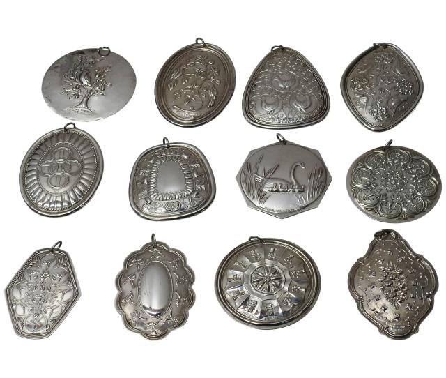 Towle Sterling Silver  Days Of Christmas Ornaments