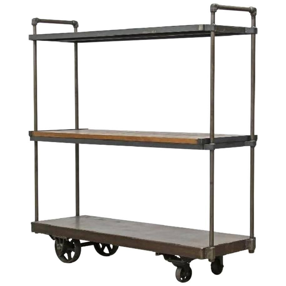 Industrial Entertainment CenterShelving At 1stdibs