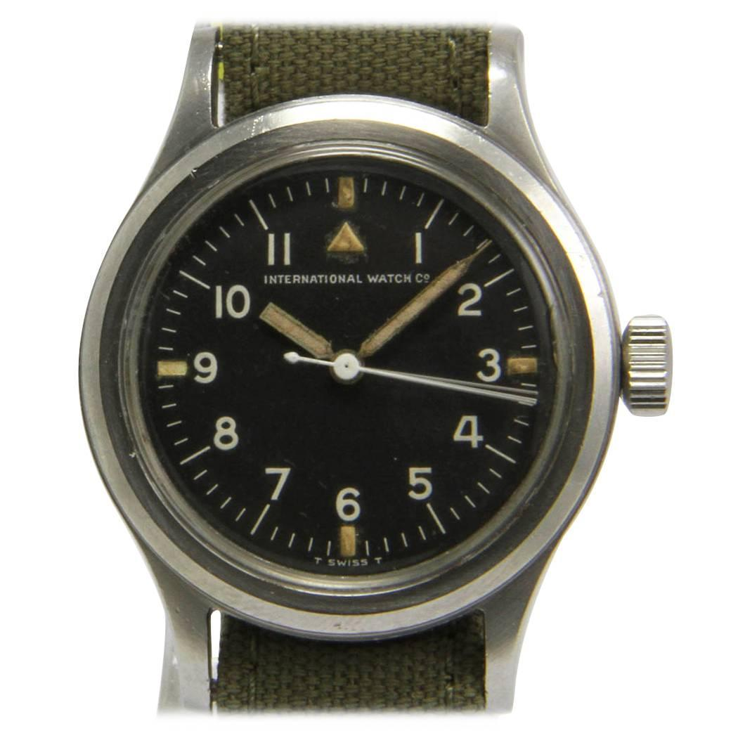IWC Fliegeruhr Ref Mark XI Steel Wrist Watch At 1stdibs