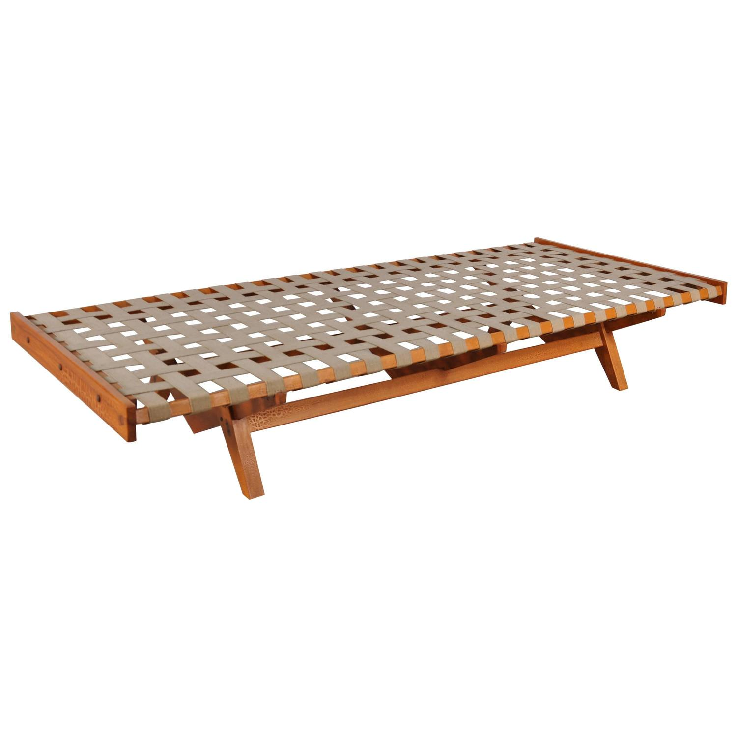 Dutch Mid Century Daybed Circa 1950 At 1stdibs
