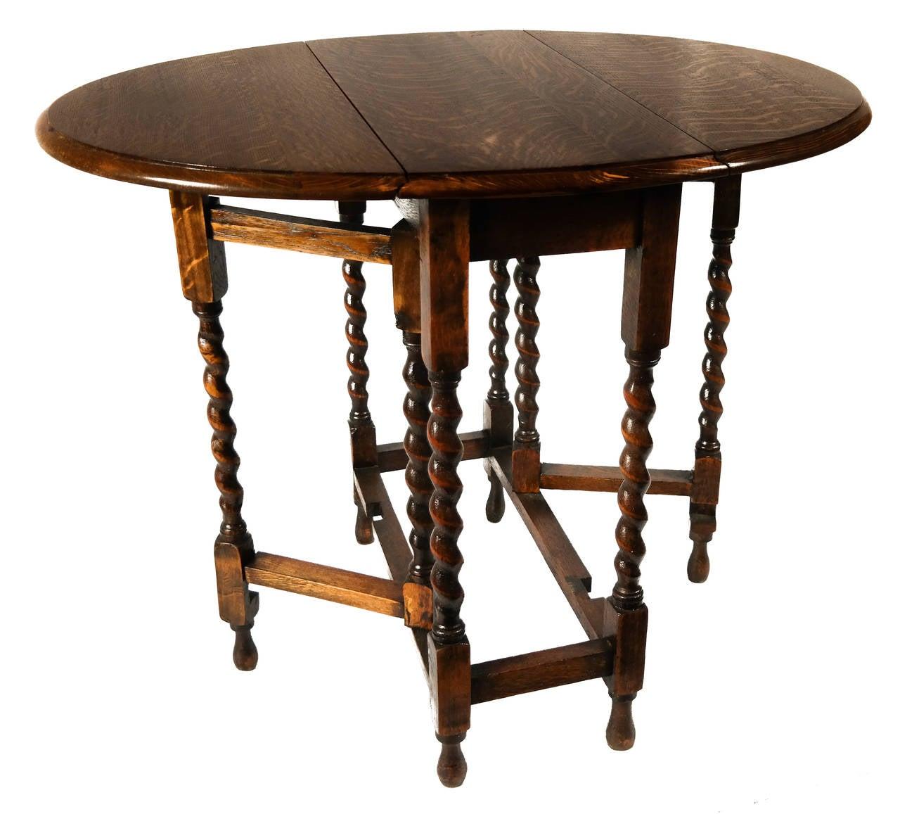 Gateleg Table At 1stdibs