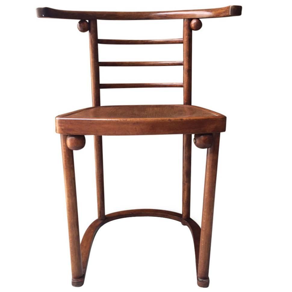 Fledermaus Chair By Josef Hoffmann At 1stdibs
