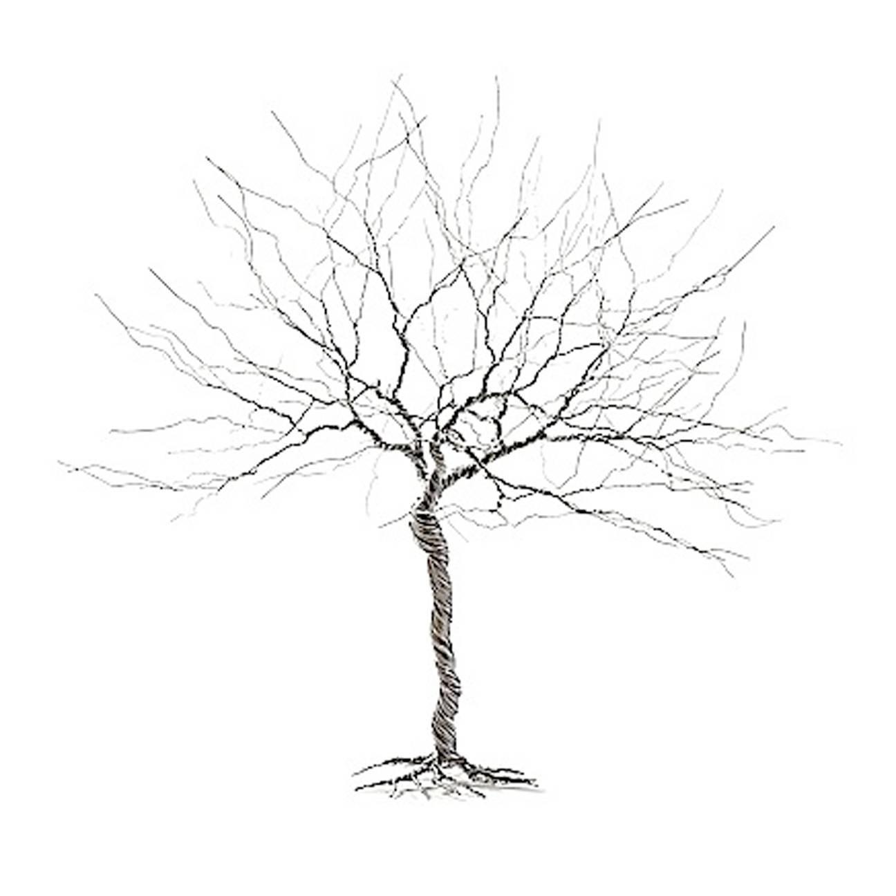 Medium Steel Wire Tree By Nyc Artist For Sale At 1stdibs