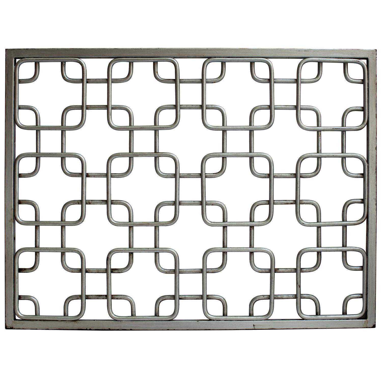 Group Of Mid Century Modern Style Iron Grills At 1stdibs