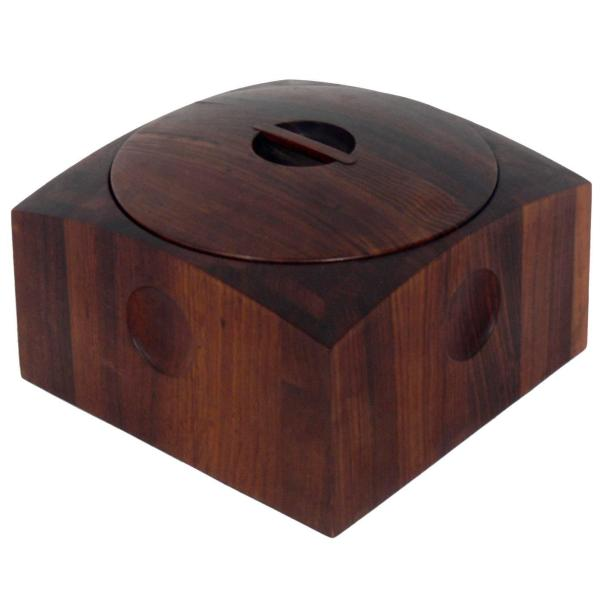 Cocobolo Furniture   48 For Sale at 1stdibs Danish Modern Cocobolo Ice Bucket by Jens Quistgaard for Dansk
