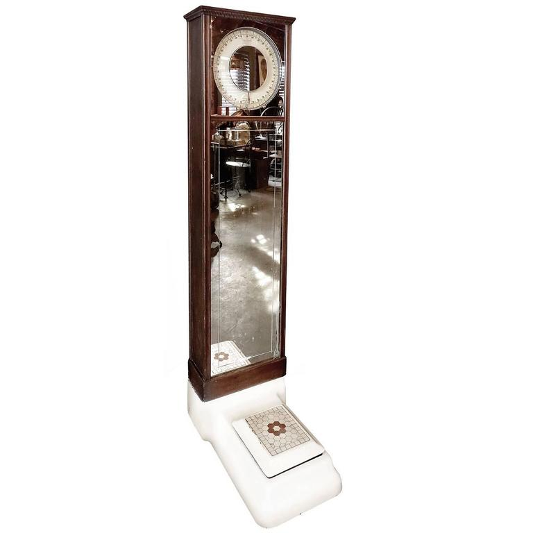 Antique Columbia Penny Scale Coin Operated For Sale At